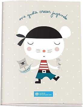 Cuaderno de Colorear A5 - Aldeas Infantiles SOS - Pirata: Amazon.es: Oficina y papelería