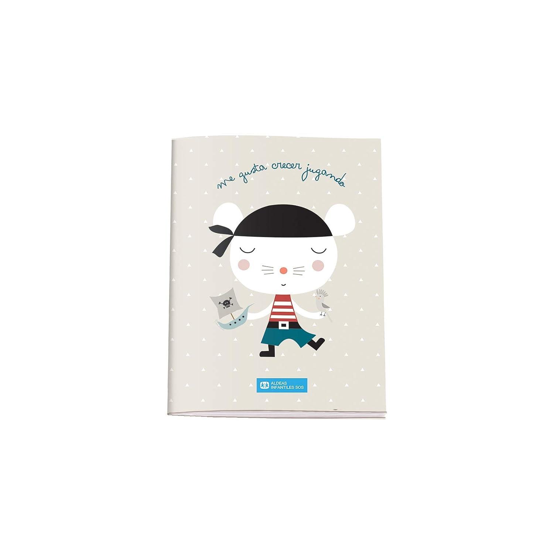 Cuaderno de Colorear A5 Aldeas Infantiles SOS Pirata