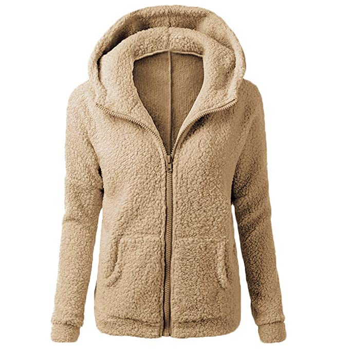 Amazon.com: GoodLock Women Fashion Hooded Warm Coats Casual ...