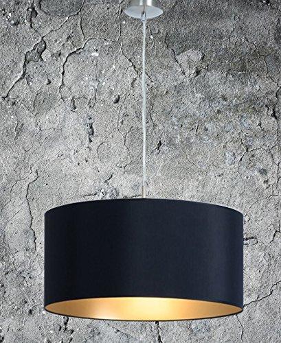 klassische hngelampe hochwertige hngeleuchte schwarz gold xxl pendelleuchte lampe wohnzimmer - Hangeleuchte Wohnzimmer Led