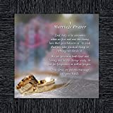 Elegantly Yours Marriage Prayer, Signs with Scripture, Christian Marriage Gift, 10x10 8657CH
