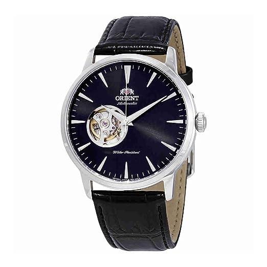 Orient Reloj Analógico para Hombre de Automático con Correa en Cuero FAG02004B0: Amazon.es: Relojes
