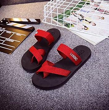CWJDTXD Zapatillas de verano Oferta especial verano playa damas punta plana espuma antideslizante sandalias y zapatillas chanclas con sandalias, 37, ...