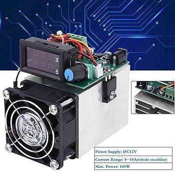 Carga electrónica de CC 12V, carga electrónica de ventilador de ...