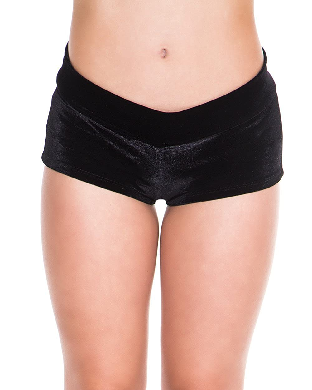 iHeartRaves Women's Booty Shorts Low Rise Festival Rave Bottoms