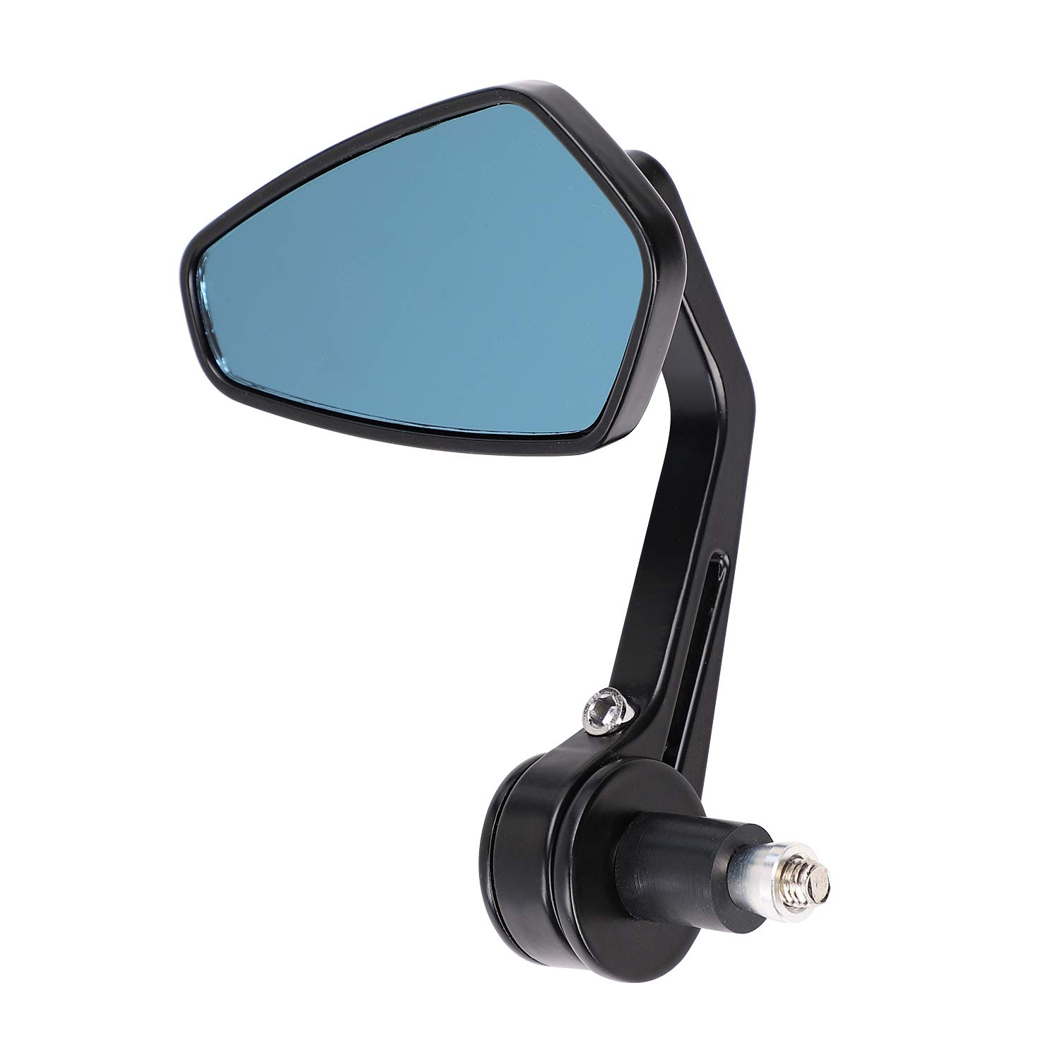 One Pair Motorbike Mirror 7/8'' Rhombus Rear View Rearview Side Mirrors Universal Motorcycle Wing Mirrors Wide Angle Handebar Bar End Side Mirror Safety Reflector Mirror Rearview Mirror Day-Night