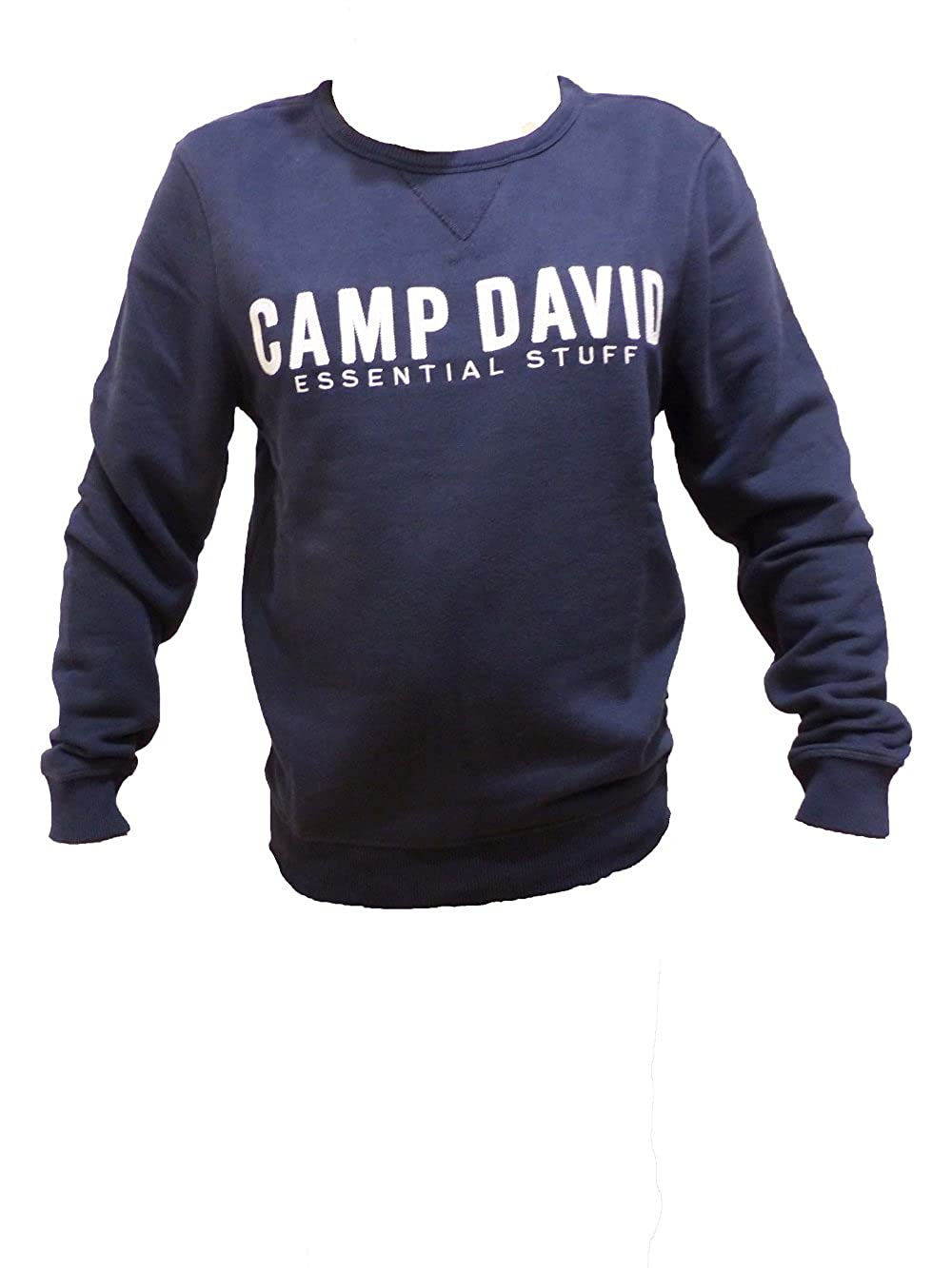 good out x newest where can i buy Camp David Sweatshirt Essential Stuff 2018 Blue Navy CCB ...