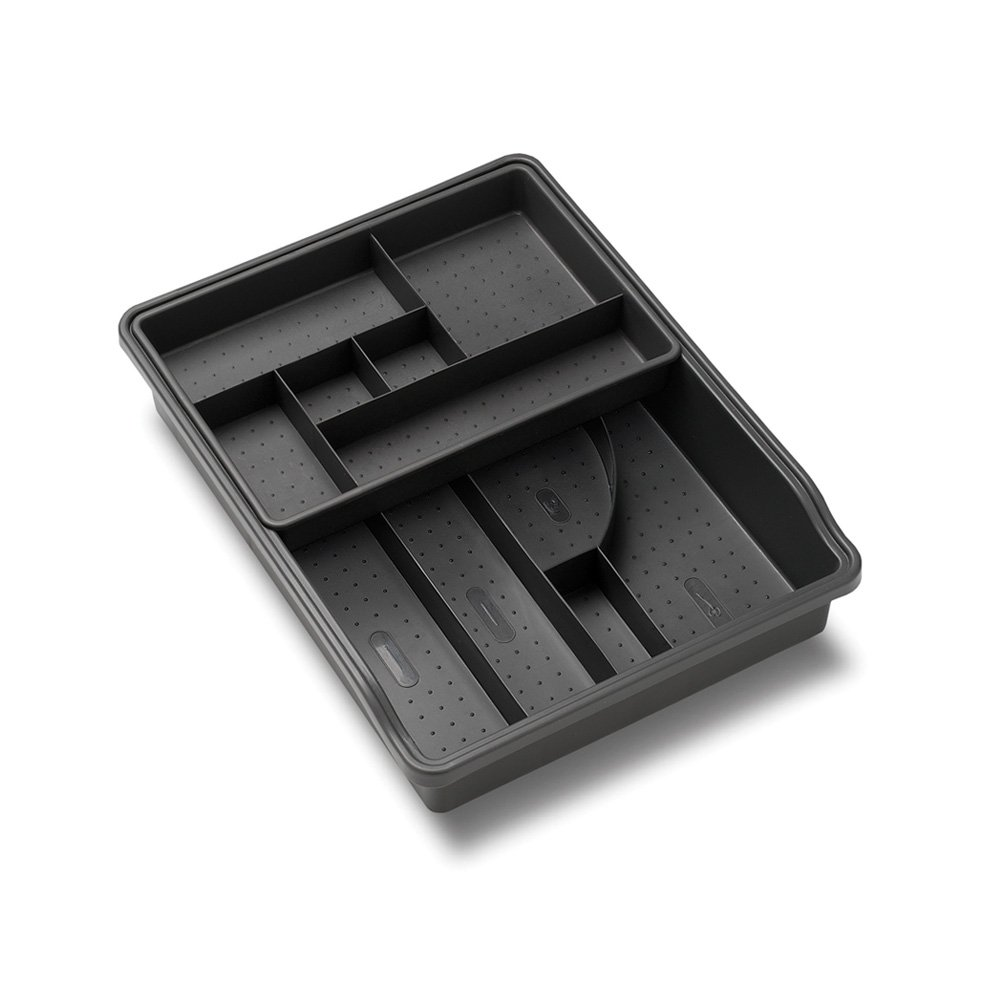 Madesmart Original Junk Drawer Organizer-Granite| Value Collection | 23-Compartments | Multi-Purpose Storage | Heavy Duty | BPA-Free by madesmart