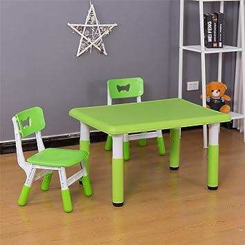 Mesas y sillas de estudio para niños con mesas de media luna de ...