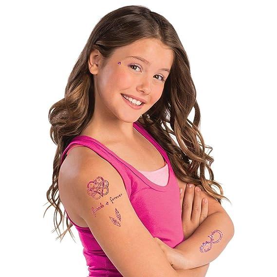 Style Me Up - Tatuajes temporales con Brillantina para niñas - 45 ...
