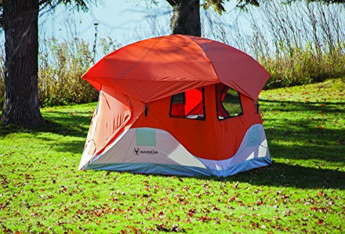 "Gazelle 22272 Pop-up Portable Camping Tent, 4 Person 94"" x 94"""