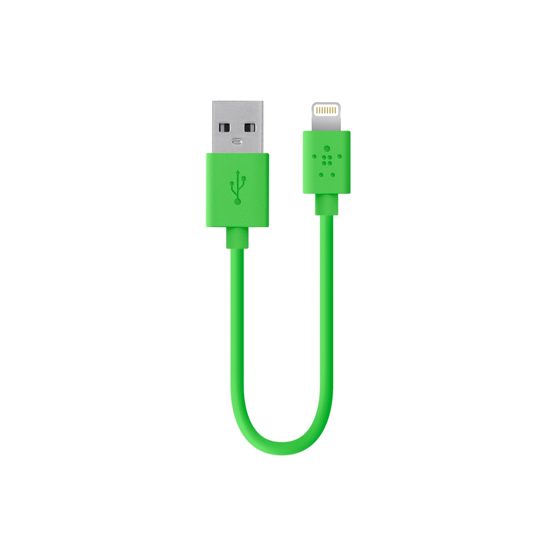 Belkin Apple Certified MIXIT Lightning to USB Cable, 6 Inches (Green)