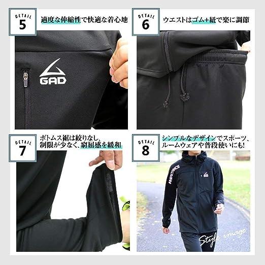 Mfasica Mens Zip Thick Pocket Hooded Warm Solid Velvet Down Jackets