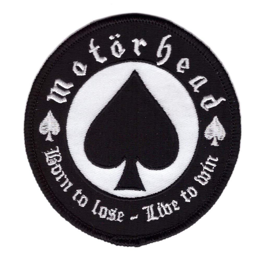Titan One Europe Motorhead Born to Lose Live to Win Rock Music Band Patch Motorrad Aufn/äher Aufb/ügler