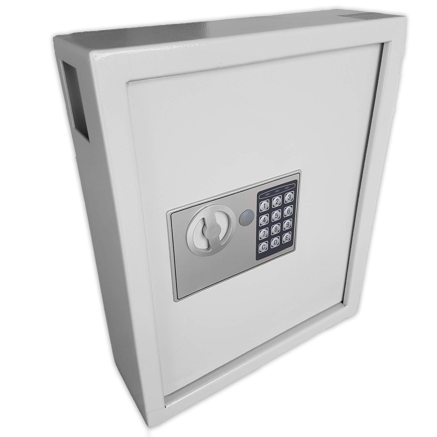 Futura 40 Key Safe Digital Key Cabinet Safe Box, Electronic Combination  Lock, Wall or Floor Mounted, Steel High Security Storage Box Supplied with  40