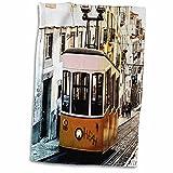 3dRose RinaPiro - Transportation - Trolley. Streetcar. Tram. Electric rail...