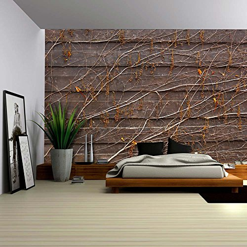 wall26-orange-vines-draping-on-a-wood-panel-wall-wall-mural-removable-wallpaper-home-decor-100x144-i