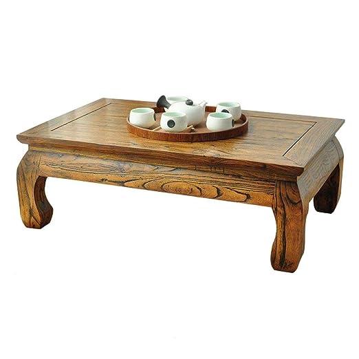 Mesas de centro Mesa de Centro Mesa de Tatami de ratán Mesa de ...