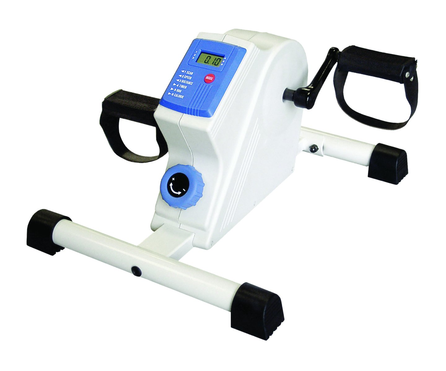 CanDo Arm, Leg Pedal Exerciser - Deluxe with LCD monitor