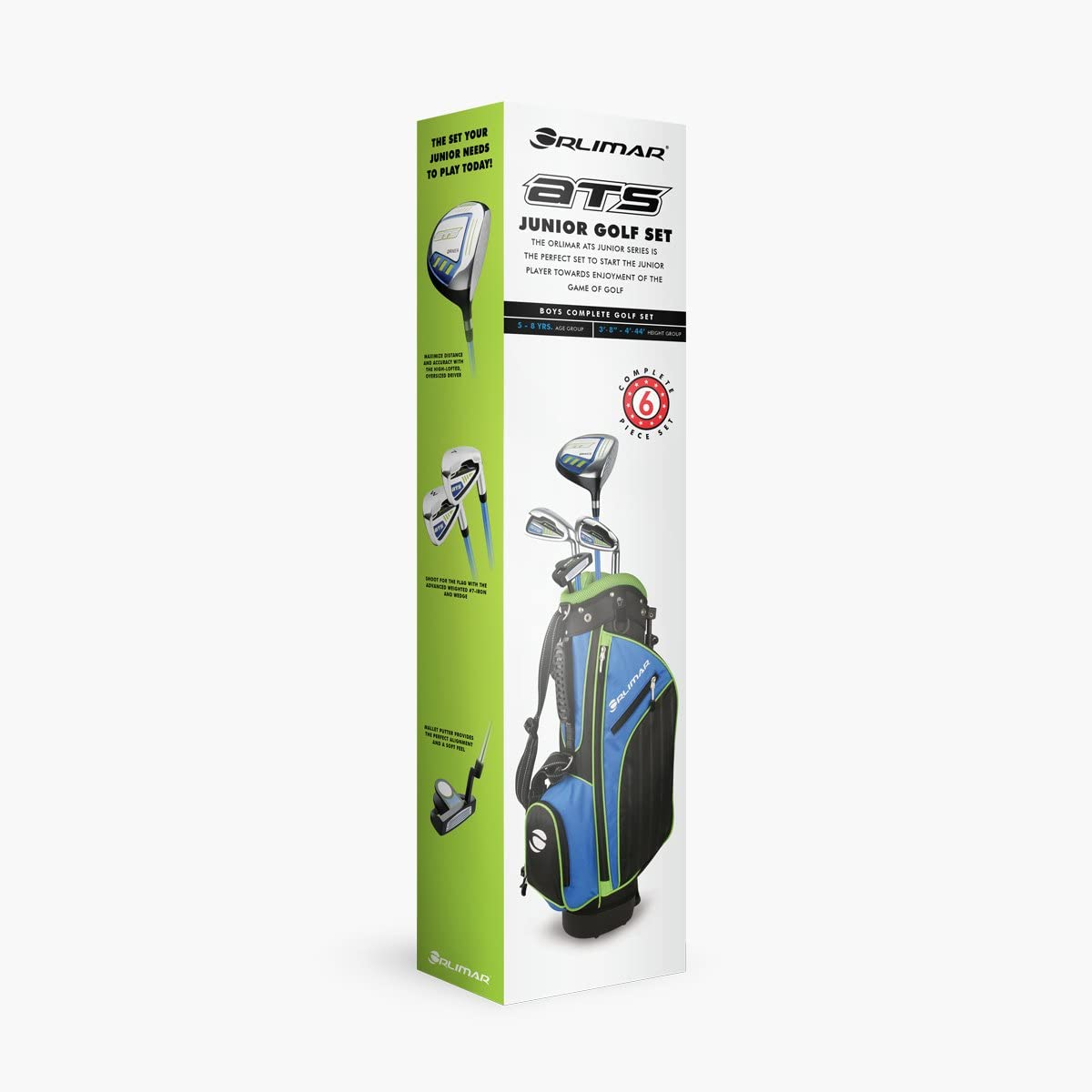 Orlimar Golf ATS Junior Boy s Golf Set with Bag, Right and Left Hand