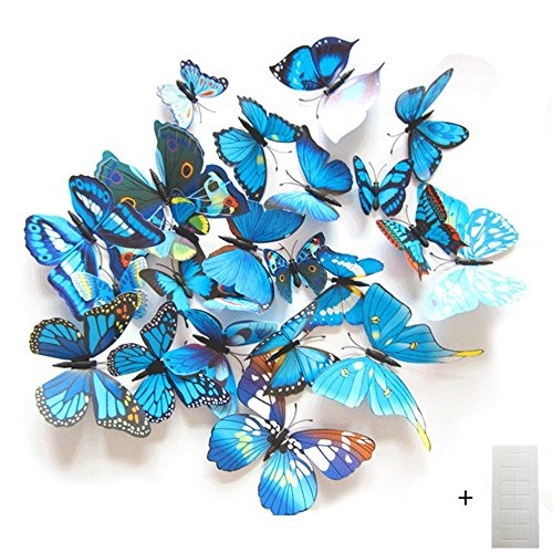 Butterfly Animal Wall Clock - 2