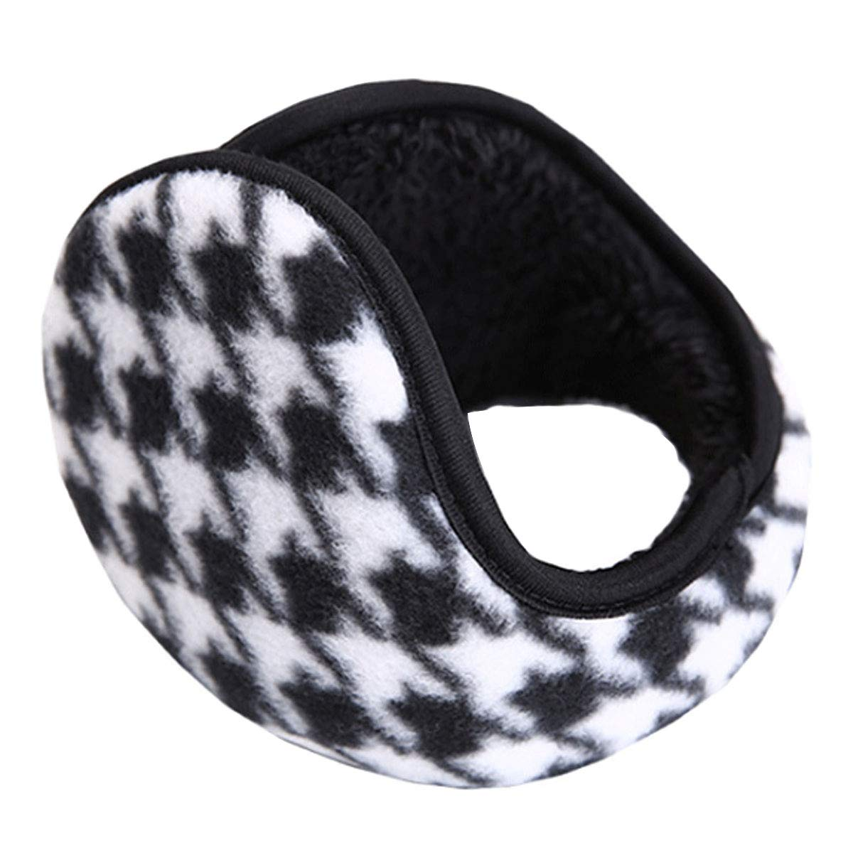 Mily Unisex Earmuffs Winter Warm Earmuffs Classic Plush Ear Warmer Aisi ez-03092-03S