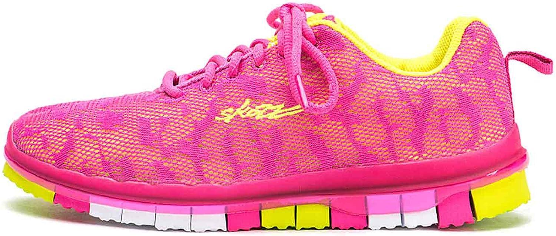 Skazz by Sansha Women's Dance Studio Exercise Sneakers Mesh Rubber Full Sole Spicy (US 5.5 / Skazz 05 M) Fuchsia/Yellow