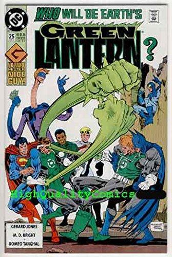 GREEN LANTERN #25, NM+, Hal Jordan vs Guy Gardner, 1990, more GL in store