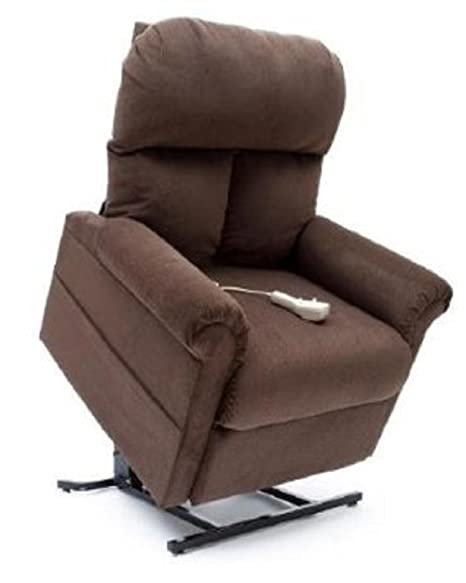 Enjoyable Mega Motion Power Easy Comfort Lift Chair Lifting Recliner Lc 100 Infinite Position Rising Electric Chaise Lounger Chocolate Brown Color Fabric Short Links Chair Design For Home Short Linksinfo