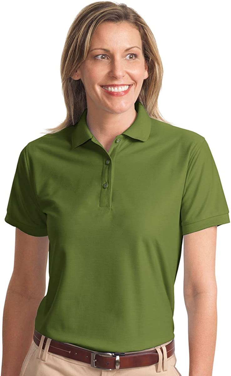 thegymyarraville.com.au Port Authority L500 Ladies Silk Touch Polo ...