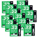 ITW Ramset 32CW Powder A Loads, For Powder Actuated Tools, Green, 22 Cal 12 Pack