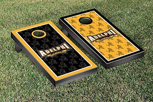 Adelphi Panthers Regulation Cornhole Game Set Border Version 2