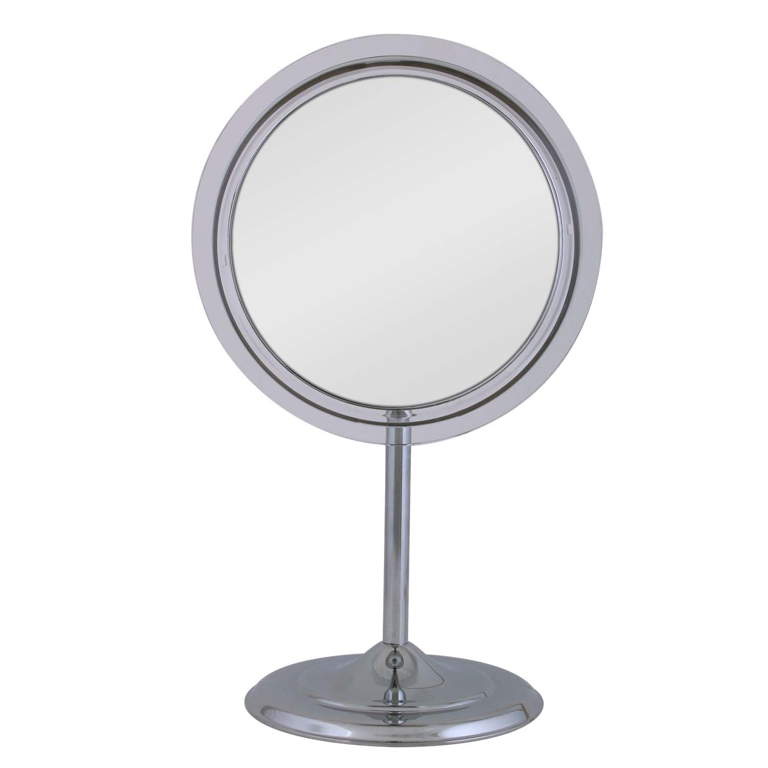 Zadro 7X Magnification Surround Lighted Adjustable Vanity Mirror, Chrome