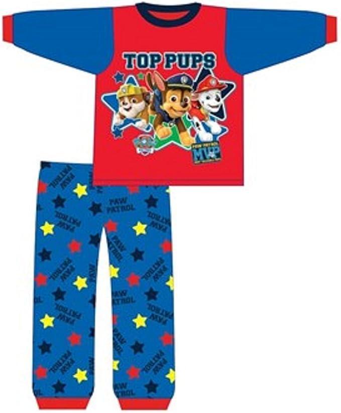 Baby Boys Paw Patrol Sleepsuit Pyjamas PJs 100/% Cotton Sizes 6 12 18 /& 24 Months
