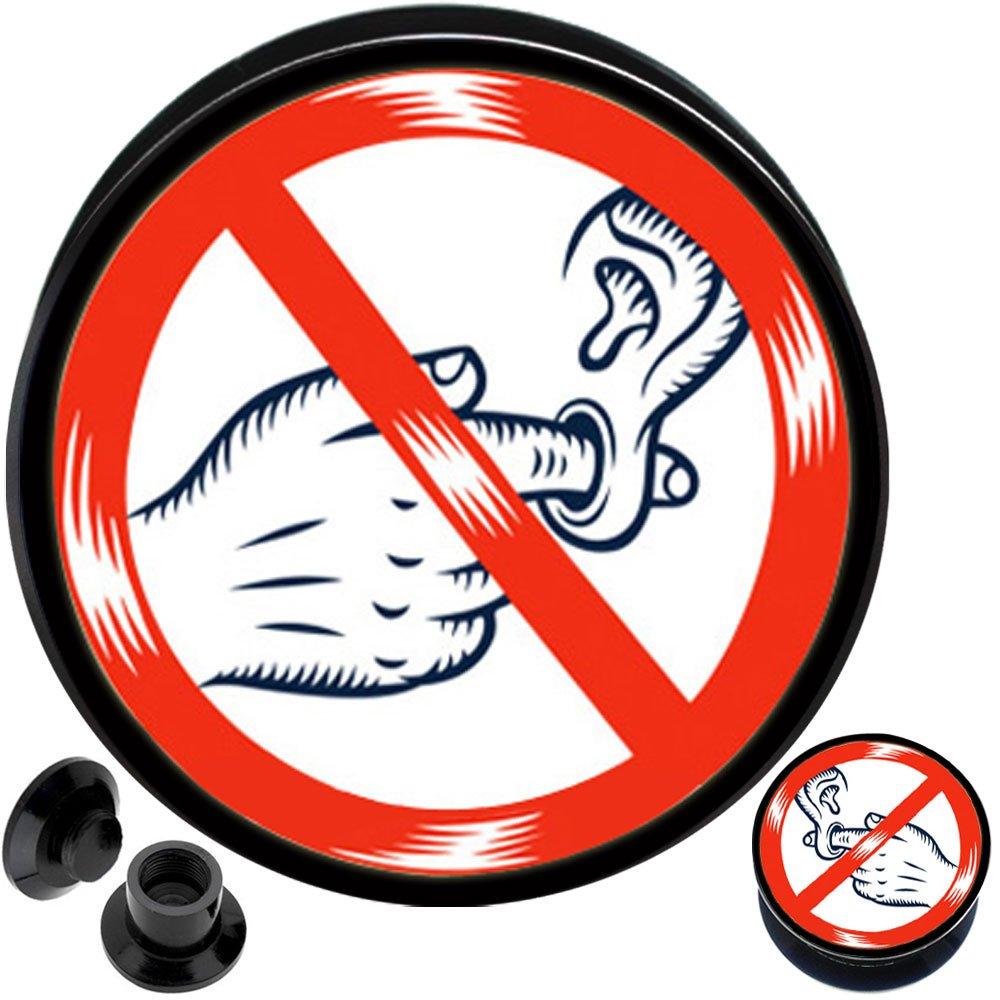 Ear gauges Plug Flesh Tunnels Stretcher Expander 2g 0 0g 00 00g 1/2 9/16 5/8 3/4 1 inch 25mm Ear Plug Gauge