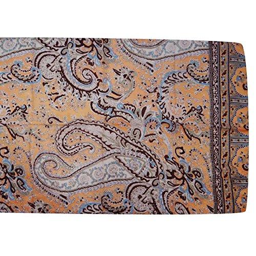 pollici e da Printed con Silk Hijab testa pesca Abstract 20 marrone x scialle Pure Sciarpe donna Aboutyou a 70 Sciarpe 6wa10x
