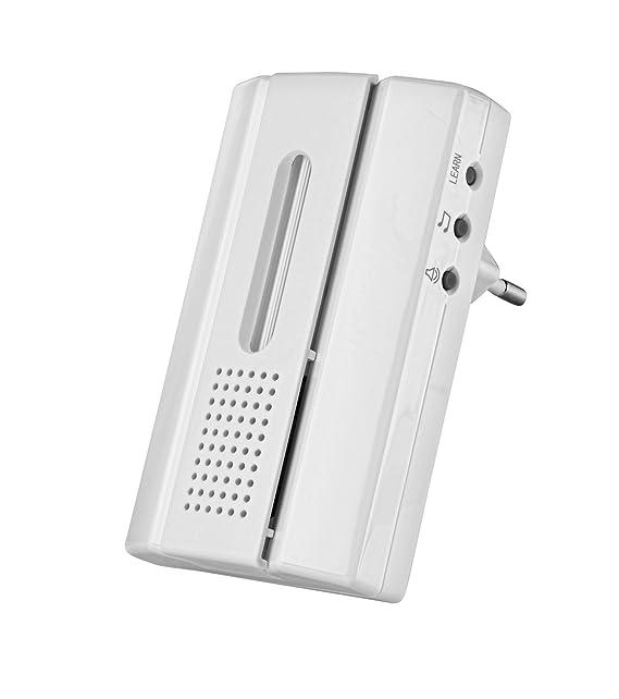 Trust ACDB-7000C Timbre inalámbrico para enchufe para sistema Trust Smart Home, blanco: Amazon.es: Electrónica