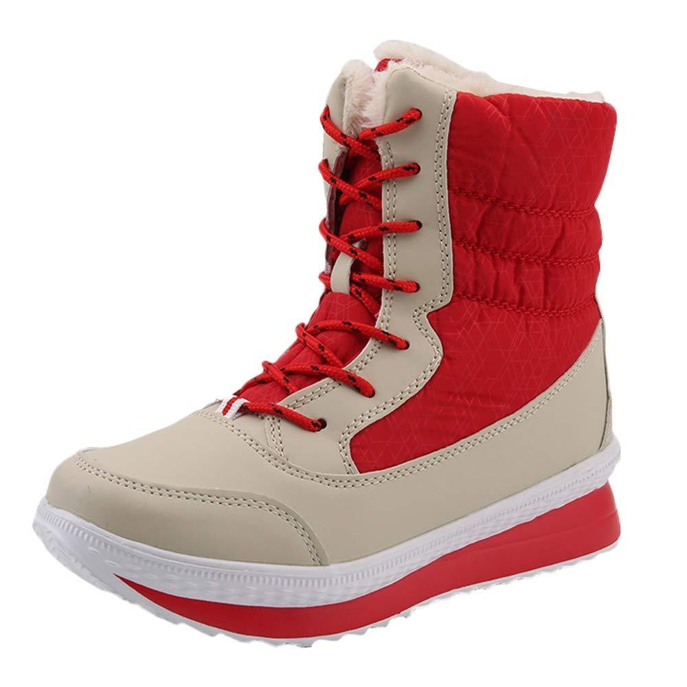 Aurorax-shoes DRESS レディース B07K18NHYR レッド US:7.5