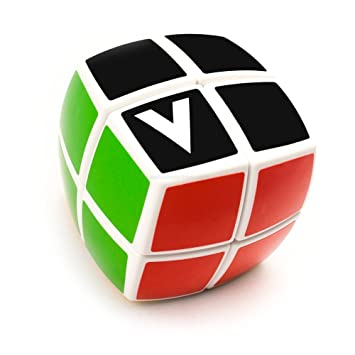 V Cube amazon com v cube pillowed 2 cube white multicolor toys