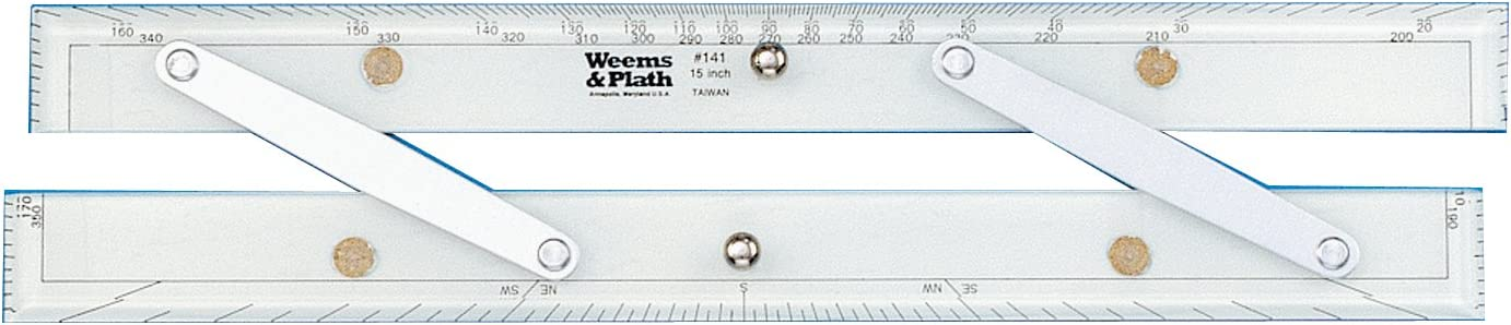 Weems & Plath Marine Navigation Parallel Ruler (Aluminum Arms, 15-Inch) by Weems & Plath: Amazon.es: Deportes y aire libre