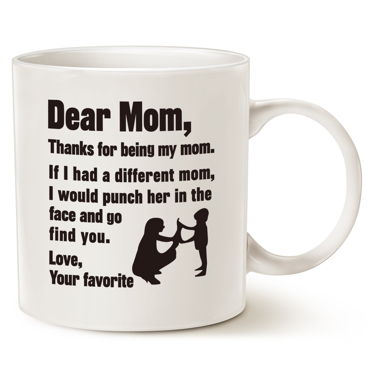 This Might be Wine Funny Christmas Gifts for Mum Coffee Mug - Dear ...