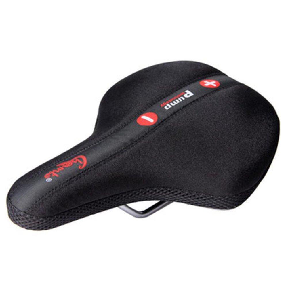 運動、サイクリング、マウンテン自転車のための快適なバイクのシートクッションパッド入りプレミアムバイクハメアジャスタブルインフレータブル自転車カバー   B078YNZHLL