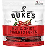 DUKE'S Smoked Shorty Sausages - Hot & Spicy Red 113 g (Pack of 1)
