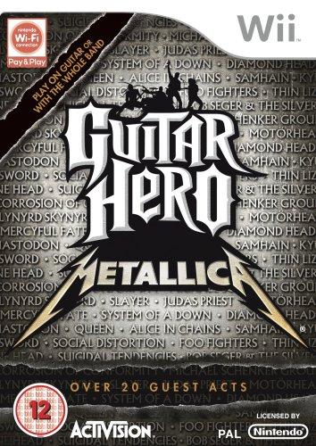 Guitar Hero: Metallica (solus) /wii (Metallica Xbox 360)