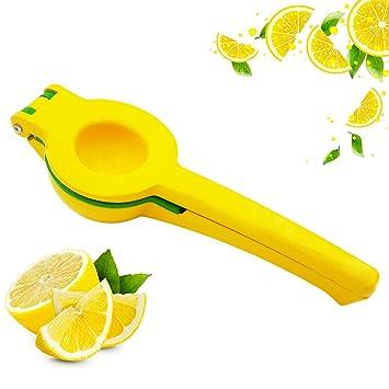 ilves 2 en 1 limón Exprimidor, Manual extractor de jugo de limón, zumo de frutas Clip, Clip de limón: Amazon.es: Hogar
