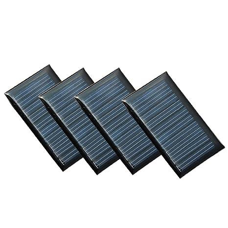 Great Set Di 4 Pezzi NUZAMAS 5V 30mA 53X30mm Micro Mini Pannelli Solari A Pannello  Per Energia
