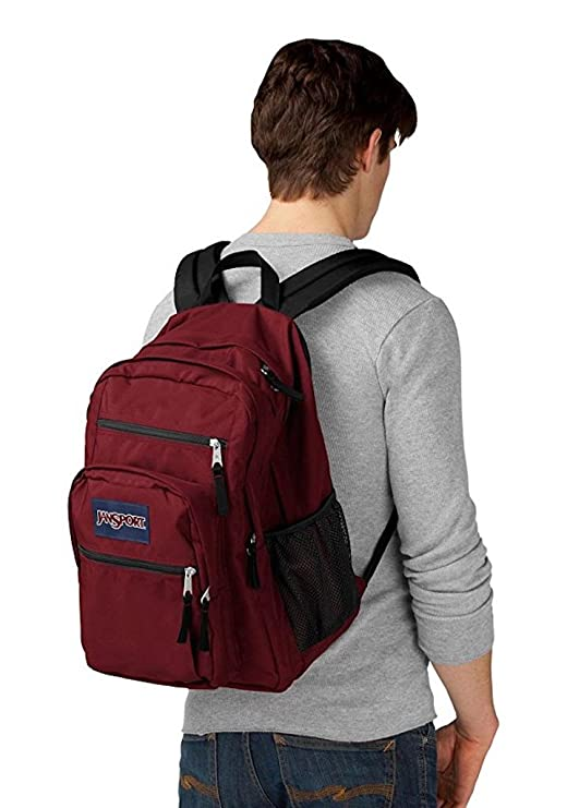 12255f95f23e Amazon.com  JANSPORT BIG STUDENT BACK BAG (Viking Red)  Computers    Accessories