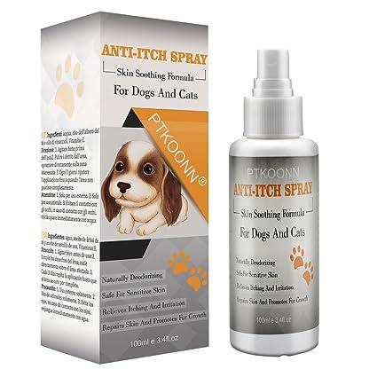 Pet Anti Itch,Picazón Perros,Picor Perros,Spray Seguro y Natural para Perros