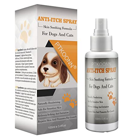 Pet Anti Itch,Picazón Perros,Picor Perros,Spray Seguro y Natural para Perros