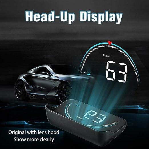 Liery M8 Smart Head Up Universal Auto Hud Head Up Display Obd2 Ii Übergeschwindigkeitswarnung Tacho Projektor Auto